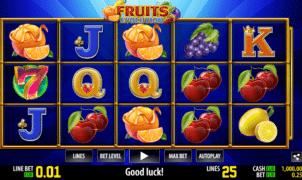 Free Fruits Evolution Slot Online