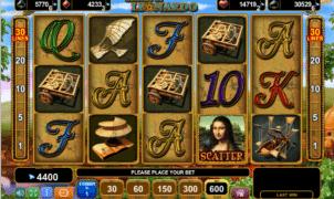 Slot Machine Genius of Leonardo Online Free