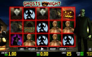 Ghosts Night Free Online Slot