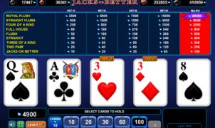 Free Jacks or Better EGT Slot Online