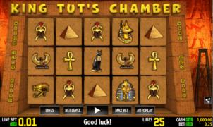 Slot Machine King Tuts Chamber Online Free