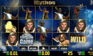 Slot Machine Mythos Online Free