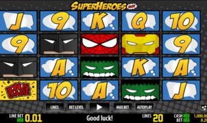 Slot Machine Super Heroes WM Online Free