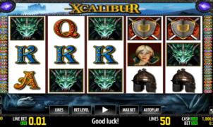 Xcalibur Free Online Slot