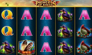 Slot Machine Princess of Birds Online Free