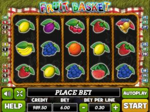 Fruit Basket Playpearls Free Online Slot