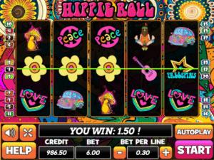 Free Hippie Roll Slot Online