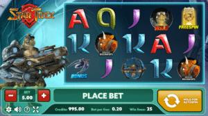 Star Trex Free Online Slot
