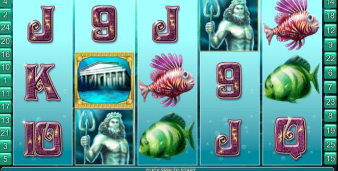 Slot Machine Atlantis Queen Online Free