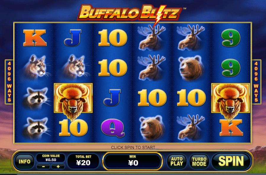 Buffalo Blitz Freeslot Online Click And Play
