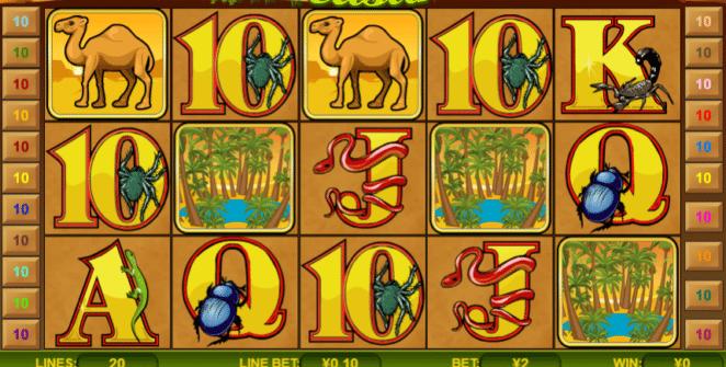Desert Treasure Free Online Slot