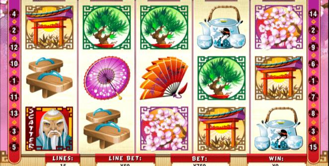 Geisha Story Free Online Slot