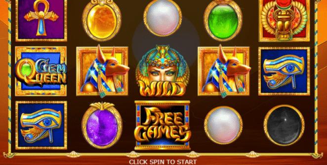 Slot Machine Gem Queen Online Free