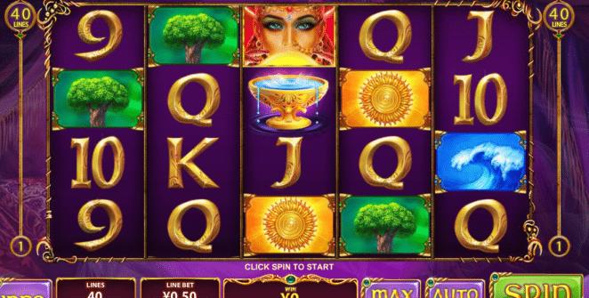 Free Slot Online Queen of Wands