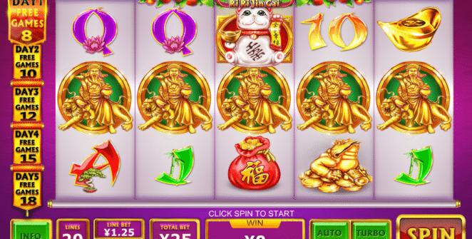 Ri Ri Jin Cai Free Online Slot