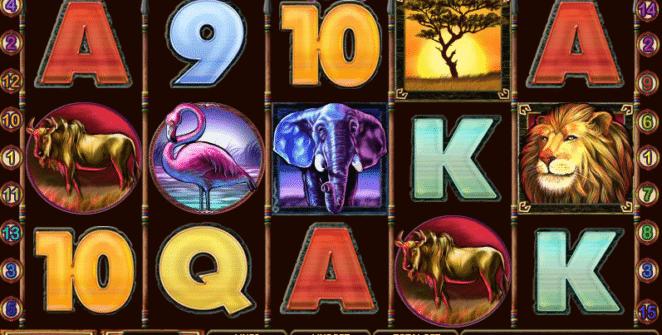 Free Safari Heat Slot Online