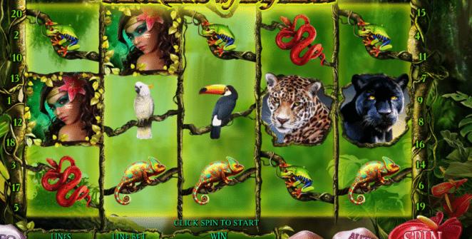 Free Secrets of the Amazon Slot Online