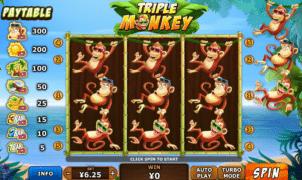 Free Slot Online Triple Monkey