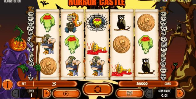 Free Horror Castle Fugaso Slot Online