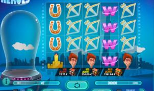 Mega Power Heroes Free Online Slot