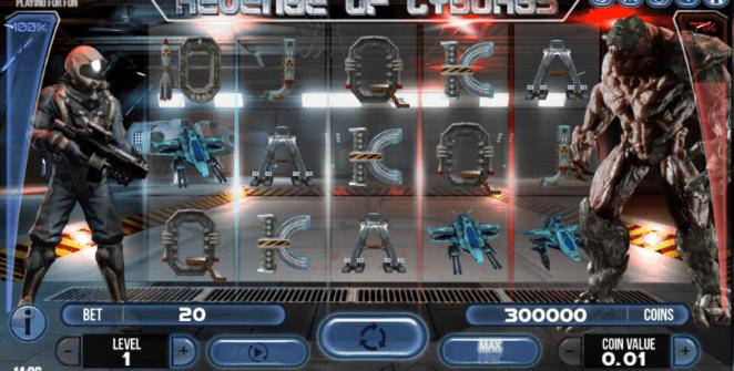 Free Slot Online Revenge of Cyborgs