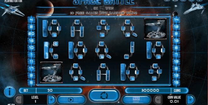 Free Slot Online Space Battle