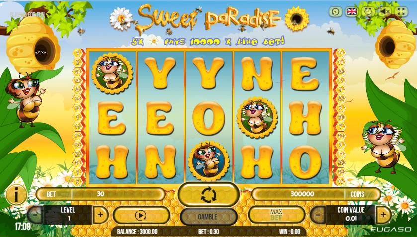 Spiele Sweet Paradise - Video Slots Online