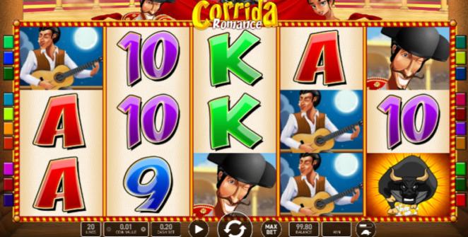 Free Corrida Romance Deluxe Slot Online