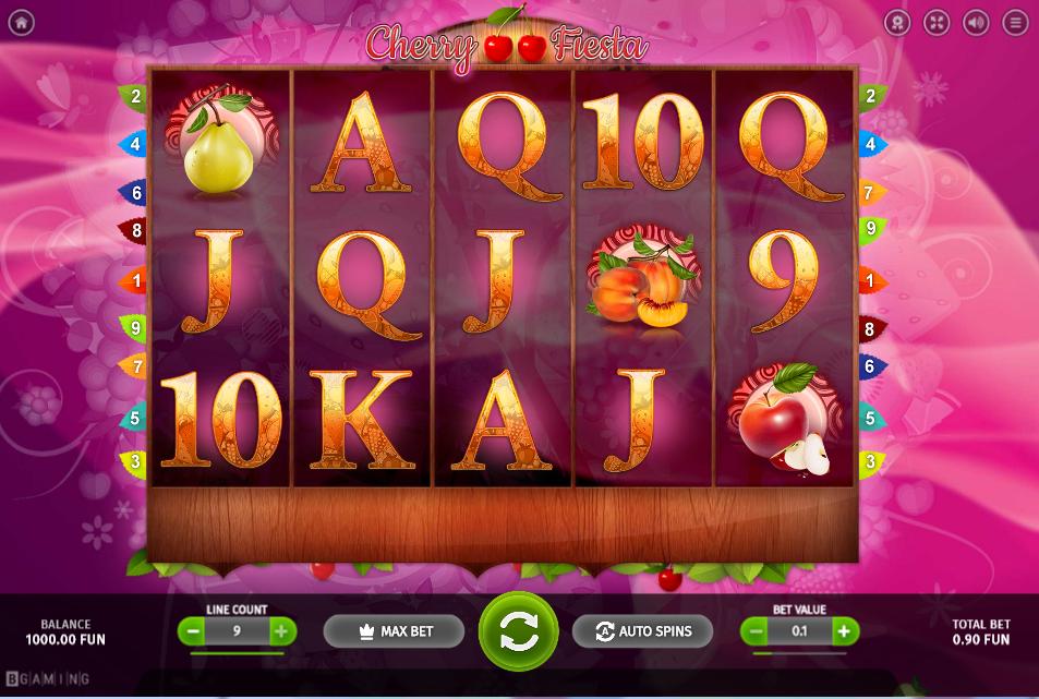 Cherry Fiesta Slot Machine