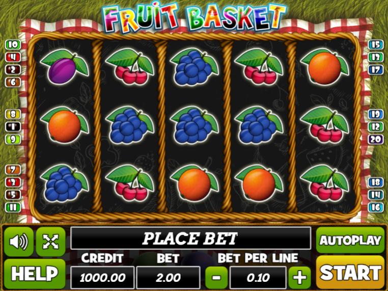 Fruit Basket Playpearls