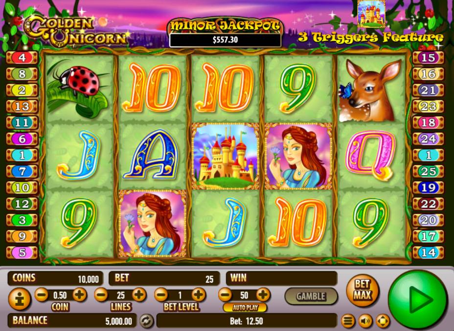 Golden Unicorn Slots - Play this Habanero Casino Game Online