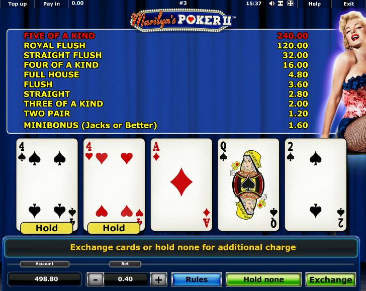 Marilyns Poker 2