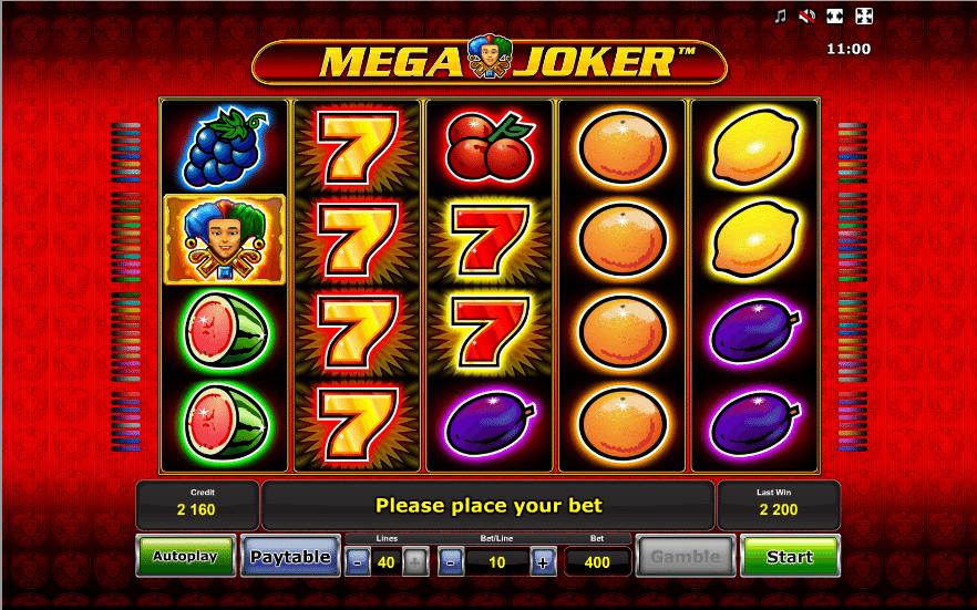 Mega Joker » FreeSlot Online » Click And Play
