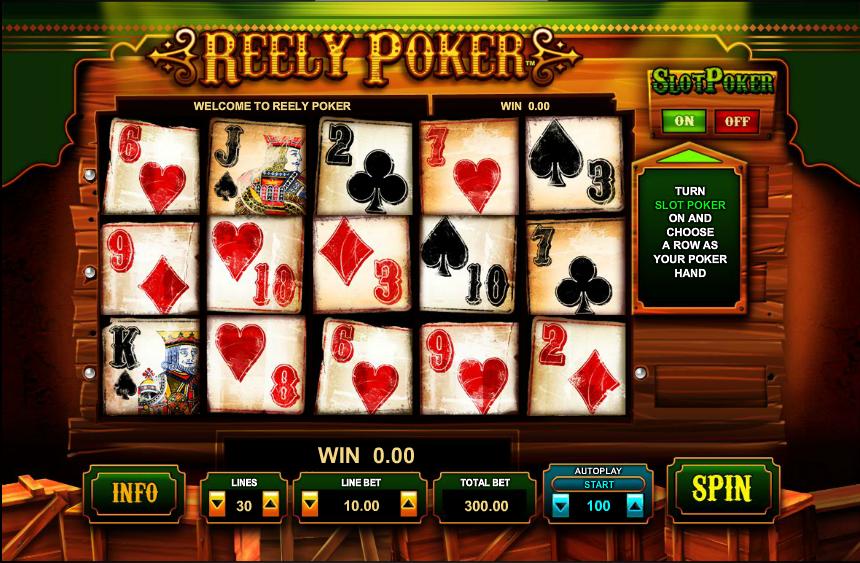 free poker slots online